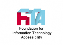 Logo of the Foundation for Information Technology Accessibility